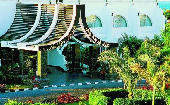 Египет хургада отель алладин