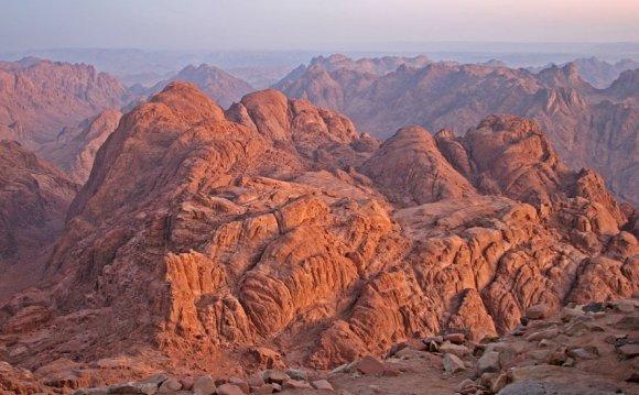 египет отдых,гора моисея
