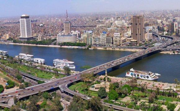 город Каир - столица Египта