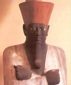 Mentuhotep II (or sometimes referred to as I) was the first ruler of Egypt's Middle Kingdom